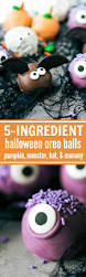 halloween oreo truffles witch spider frankenstein and owl