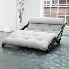 canape futon convertible convertible figo 120 wengè futon flax achat vente canapé sofa