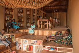 Library Colors Library Of Muyinga Bc Architects Archdaily