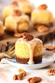 mini pumpkin praline cheesecake best cheap dessert food for