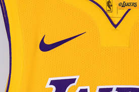 lakers officially unveil three of their new nike jerseys silver