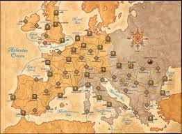 Map Of Europe Game by Game Essentials The Fury Of Dracula Guilt Free Games