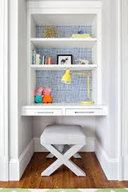 Small Desk With Shelves by Small Built In Desk This Would Be Awesome In The Office Home