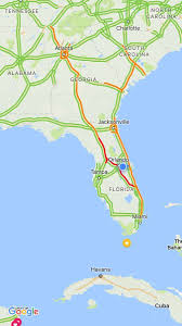 Tennessee Road Conditions Map by Hurricane Irma Causes Traffic Jam From Miami To Tennessee Border