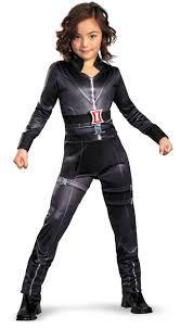 halloween costumes for kids girls party city black widow costume avengers party city