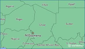 map n where is n djamena chad n djamena chari baguirmi map