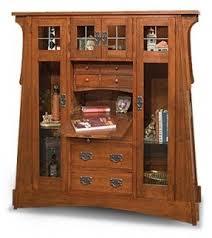 Mission Style Curio Cabinet Plans Mission Bookcases Foter