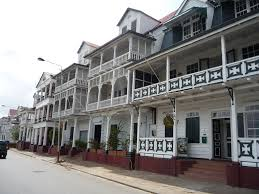 dutch caribbean south american colonial city of paramaribo