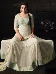 Pista Color by Pista Color Latest Indian Designer Beautiful Fancy Anarkali Suit