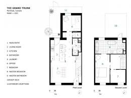 row house floor plans houses floor plan of the remodeled row house by vivi