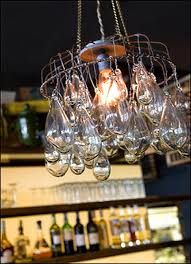 blown glass chandeliers at cucina restaurants jennifer price studio