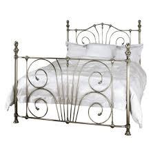 metal beds jessica in nickel or brass bedroom furniture