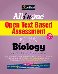 all in one open text based assessment otba biology for class 11