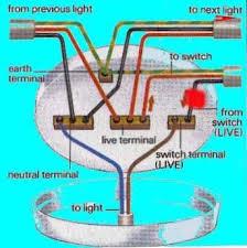 How To Mount A Ceiling Light Ceiling Light Wiring Diagram Wiring Uk Lights Darren Criss Info