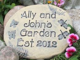 personalized garden stones 183 best inspirational poem stones for the garden images on