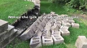 Garden Wall Retaining Blocks by Concrete Block Retaining Wall Retaining Wall And Its Importance
