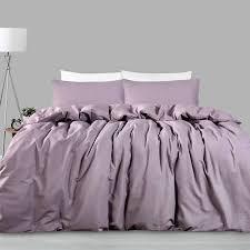 225tc linen cotton quilt cover set mauve by accessorize quilt