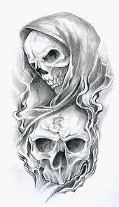 jester skull and flames tattoos for guys photo 3 2017 real