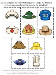 free community helper hats and badges craft follow for