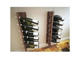 wood wall wine rack original handmade pallet wine rack reclaimed