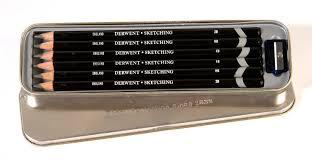 amazon com derwent sketching pencils 4mm core metal tin 6