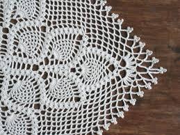 pineapple crochet runner free pattern crochet square table