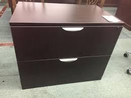 Espresso Lateral File Cabinet Espresso Two Drawer Lateral File Cabinet Office Pro S