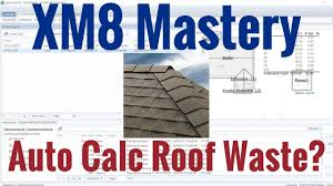 calculator sle size auto calculate roof waste in xactimate youtube