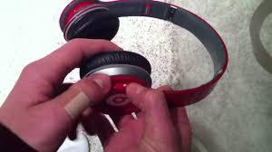 how to fix beats solo hd speaker youtube