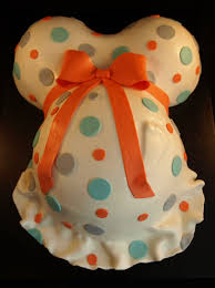 baby belly cake pan images