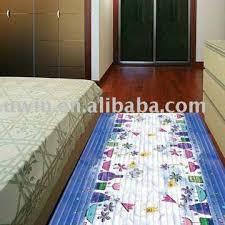 PVC Foam Printed Decorative Plastic Floor Mats For Home Bedroom - Decorative floor mats home