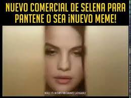 Selena Gomez Meme - selena gomez nuevo comercial pantene memes youtube