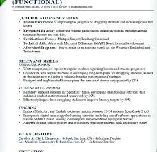 Fresher Teacher Resume Sample Sample Preschool Teacher Resume Download Teacher Resume Template