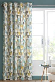 Geometric Pattern Curtains Inspiring These Next Curtains Would Go Great With The Geometric