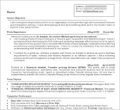 exle resume for application analytics professionals free resume templates