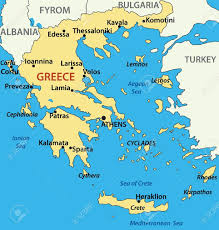 Greece On A Map by Map Of Greece Only You Can See A Map Of Many Places On The List