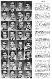 hs yearbooks columbus high school chs 1956 yearbook log seniors columbus