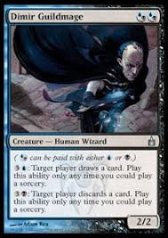 edh discard blue black red deck proxy mtg vault