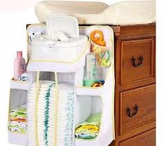 Changing Table Caddy Caddy Hanger Stacker Organizer Baby Storage Infant Crib