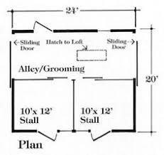 3 stall horse barn plan one level my style pinterest horse