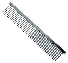 metal comb 15cm stainless steel wahl coarse hair pet comb pet