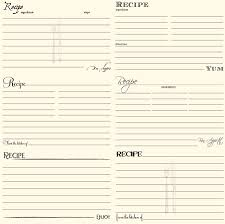 thanksgiving recipe card template save a recipe creative ways to save family and vintage recipes