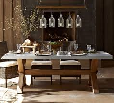 how to decorate a dining room table photos of zinc dining table dans design magz remove rust at