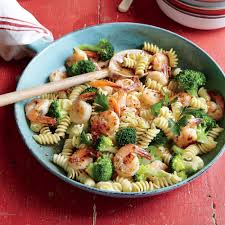 Pasta Recipes by Shrimp And Broccoli Rotini Recipe Myrecipes