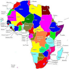 the map of africa africa resources washlaw web