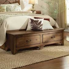 Bedroom Bench With Back Bed Foot Bench With Storage Storage Ideas