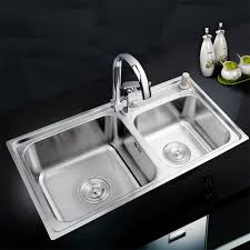 kitchen double kitchen sink with regard to best bar faucets