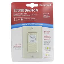programmable light switch timers honeywell