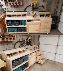 Woodworking Shop Bench Height by Best 25 Table Saw Station Ideas On Pinterest Table Saw Stand