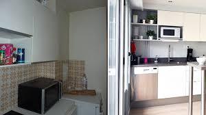 ouvrir cuisine avant après ouvrir une cuisine sur le salon pour rééquilibrer